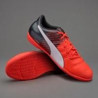 Sepatu Futsal Puma Evopower 4.3 Red/White/Black Original 100%