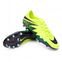Sepatu Bola Nike Hypervenom Phelon Ii Fg - Volt/Black/Clear Jade