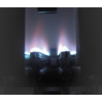 bergaransi Modena Water Heater Gas GI 10 S Silver Stainless  origina y