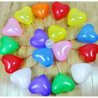 balon latex love - ballon warna - balon motif love -