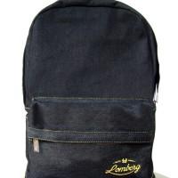 Tas Ransel Laptop Denim - Lomberg BLAXX Classic Series (Backpack)