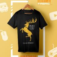 T-Shirt Game Of Thrones - Kaos Gamer / Film / Sci-Fi
