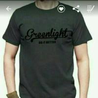 T-shirt/Kaos/Kaos pria GREENLIGHT, distro terbaru