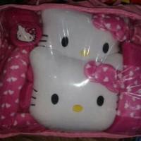 Sarung Jok Hello Kitty Mobil AGYA/AYLA warna pink