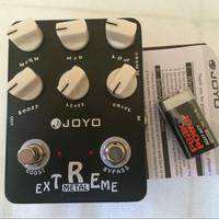 Efek gitar metal Joyo JF17 extreme metal original