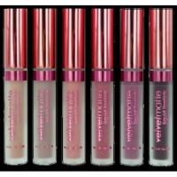 LA SPLASH Velvet Matte Liquid Lipstick