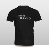 Kaos Baju Pakaian GADGET HANDPHONE Samsung Galaxy S FONT murah