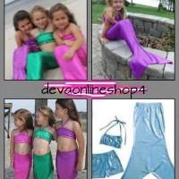 baju renang putri duyung anak