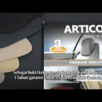 Jok Permanen / Paten bahan Kulit Asli Articoleder khusus mobil 2 baris