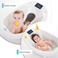 aqua scale 3in1/bath tub,termometer&digital scale