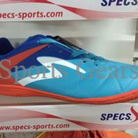 Sepatu Futsal Specs Barricada Gurkha in 2016 Blue Red original