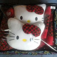 Sarung Jok Hello Kitty Mobil Agya Ayla