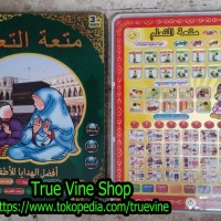 IPAD ARAB (Playpad Anak Muslim) 4 IN 1 (4 Bahasa) Mainan Edukasi