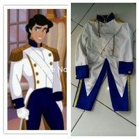 Baju Anak - Baju Kostum Pangeran Eric/Ariel Mermaid
