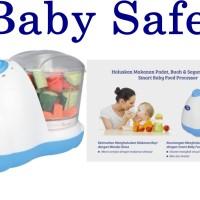 Blender makanan baby BabySafe/Smart Baby Food Processor