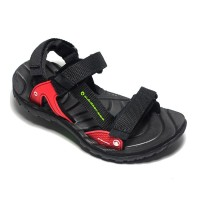 Sandal Outdoor Pro Azalea Kdx Black, Sandal Gunung Anak