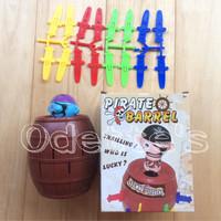 Mainan Edukasi Tong Bajak Laut / Pirate Roulette 'Running Man'