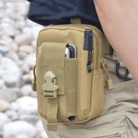 tas pinggang army tactical / dompet pinggang kanvas pria / waist bag