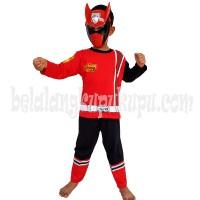 Baju Anak Kostum Topeng Superhero Power Rangers