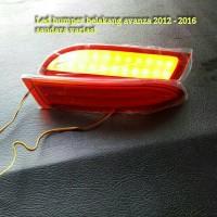 led bamper belakang all new avanza