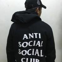 Hoodie+Topi Anti social social Club