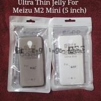 Casing Back Case Cover Ultrathin Jelly Meizu M2 Mini 5 Inch