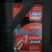 Oli Motor Liqui Moly 10W-50 4T Street Race Synthetic