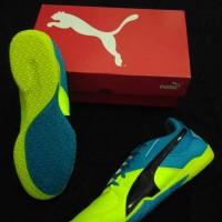 Sepatu Futsal Puma Gavetto Sala Neon Green Original