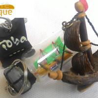 paket gantungan kunci murah khas danau toba sumatera utara seni ukir