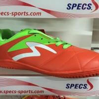 Sepatu Futsal Specs Barricada Gurkha in Orange Green Original