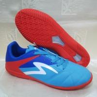 Sepatu Futsal Specs Barricada Gurkha In Blue Red Original