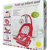 FOLD UP INFANT SEAT BABY ELLE DUDUKAN BAYI BABY BOUNCER KADO