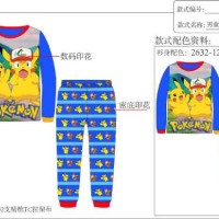 Piyama / Baju Tidur Anak Laki-laki Caluby Pokemon
