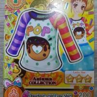 Kartu Aikatsu S2 V1 N Doughnut-print Long Shirt