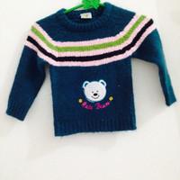 sweter rajut anak   second preloved