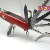 FN205 - Pisau Lipat Swiss Army Multifungsi 32 in 1