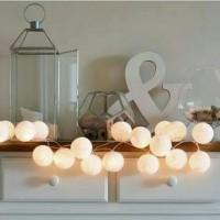 Cotton Light Ball LED - Lampu Dekorasi