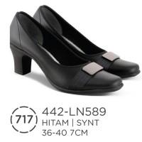 sepatu pantofel wanita, sepatu kerja kantor wanita 442-ln589