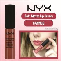 NYX SMLC Soft Matte Lip Cream Lipcream - CANNES
