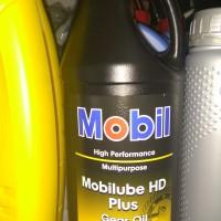 Oli Gardan Mobil Mobilube HD plus gear oil 80w-90 API GL-5 kemasan 1L