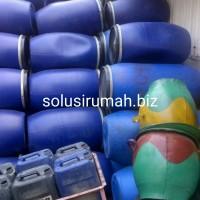TONG PVC GENTONG PVC KIMIA BEKAS BARU TEMPAT SAMPAH KARET JURIGEN BAK