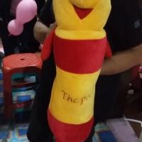 bantal Guling mobil Boneka Winnie The Pooh kuning