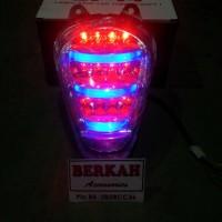 Lampu Stop Led Plus Sen Scoopy Fi