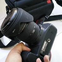 CANON 60D (lensa fix+tripod+BG+batre 2+tas+BONUS LAINNYA)
