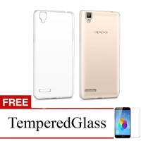 Case for Oppo Find 5 Mini / R827 - Clear + Gratis Tempered Glass - Ult