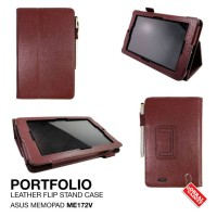 Asus Memopad ME172V Leather Flip Stand Case hard case dompet sarung