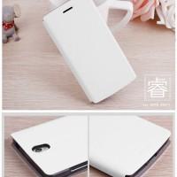 Oppo Find 5 Mini R827 MOFI sarung dompet cover Leather Flip Case mewah