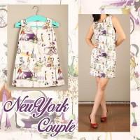 Dresscouple   new york   baju kembar   ibu dan anak