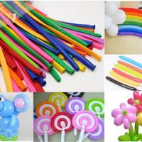 balon twist - balon pentil - balon panjang - grosir balon latex