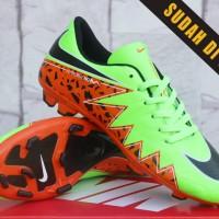 Sepatu Bola-Soccer Nike Hypervenom Skin II FG Hitam Pink Kw Super